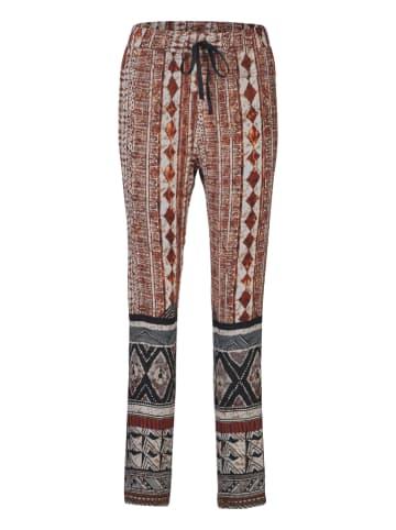 Heine Spodnie w kolorze granatowo-brązowym