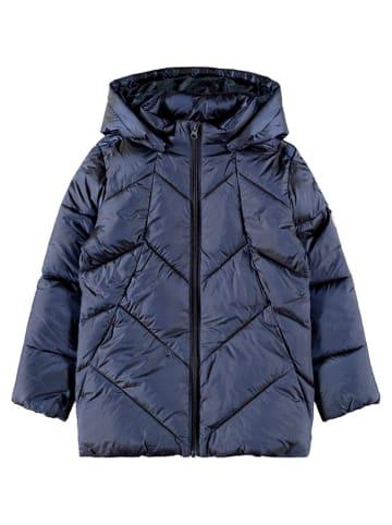 "Name it Winterjas ""Madia"" donkerblauw"
