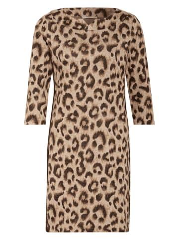 BETTY & CO Sukienka w kolorze brązowo-beżowym
