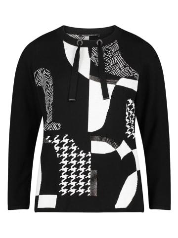 Betty Barclay Sweter w kolorze czarno-białym