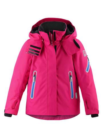 """Reima Kurtka narciarska """"Roxana"""" w kolorze różowym"""