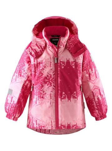 """Reima Kurtka zimowa """"Maunu"""" w kolorze różowym"""