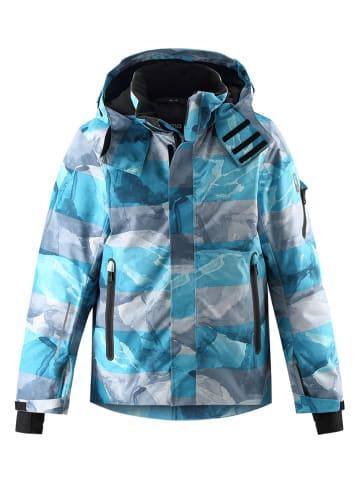 "Reima Ski-/snowboardjas ""Wheeler"" blauw/grijs"