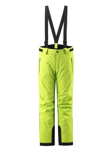 """Reima Spodnie narciarskie """"Takeoff"""" w kolorze żółtym"""