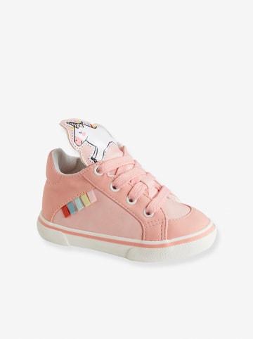 Vertbaudet Sneakersy w kolorze jasnoróżowym