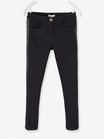 Vertbaudet Spodnie - Slim fit - w kolorze czarnym