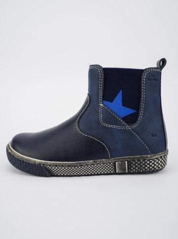 Ciao Leder-Chelsea-Boots in Dunkelblau