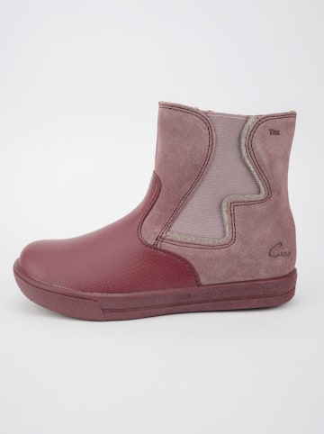 Ciao Leder-Chelsea-Boots in Rosa