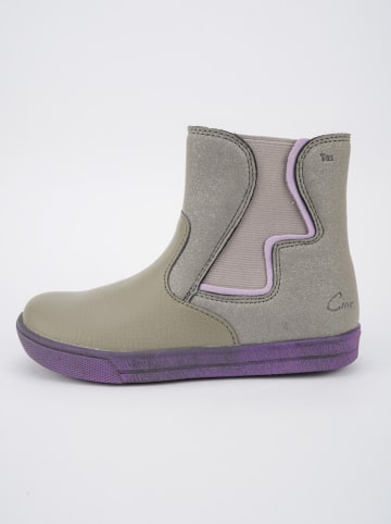 Ciao Leder-Chelsea-Boots in Grau