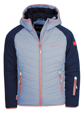 """Trollkids Kurtka narciarska """"Myrkdalen"""" w kolorze błękitnym"""
