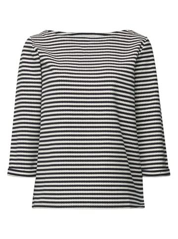 ESPRIT Sweatshirt in Dunkelblau/ Weiß