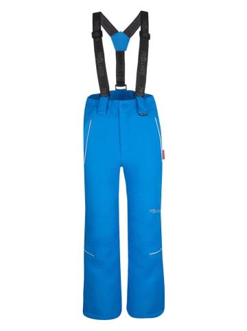 """Trollkids Spodnie narciarskie """"Holmenkollen"""" - Slim fit - w kolorze niebieskim"""