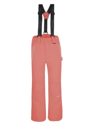 """Trollkids Spodnie narciarskie """"Holmenkollen"""" - Slim fit - w kolorze różowym"""