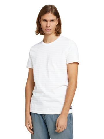 Tom Tailor Shirt in Weiß