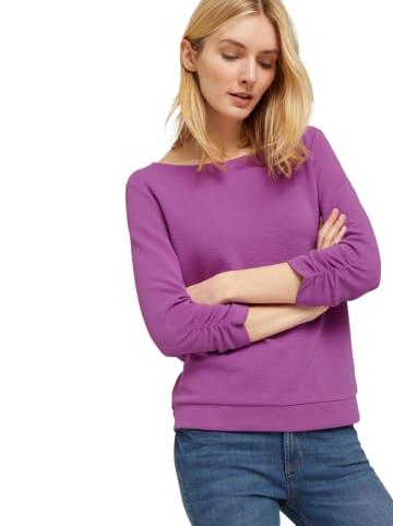 Tom Tailor Sweatshirt paars