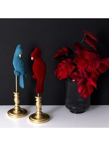 Rétro Chic Decoratief object blauw - (H)37 cm