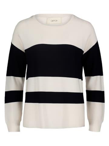 CARTOON Sweter w kolorze biało-granatowym