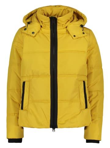 CARTOON Kurtka zimowa w kolorze żółtym