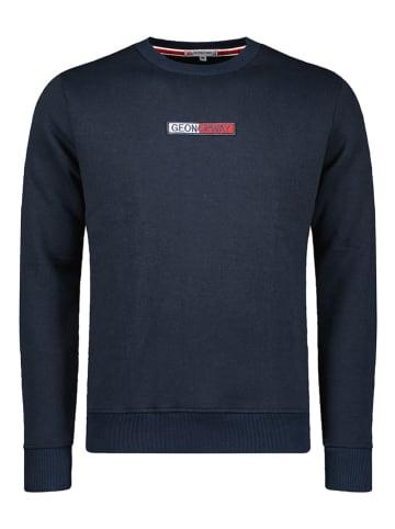 "Geographical Norway Sweatshirt ""Garrett"" in Dunkelblau"