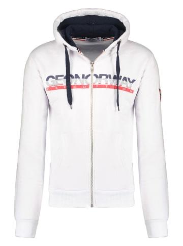 """Geographical Norway Bluza """"Gordo"""" w kolorze białym"""