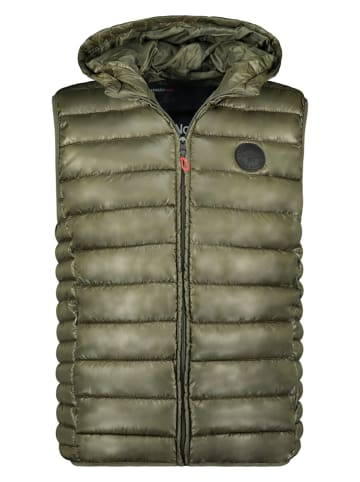 """Geographical Norway Weste """"Calender"""" in Khaki"""