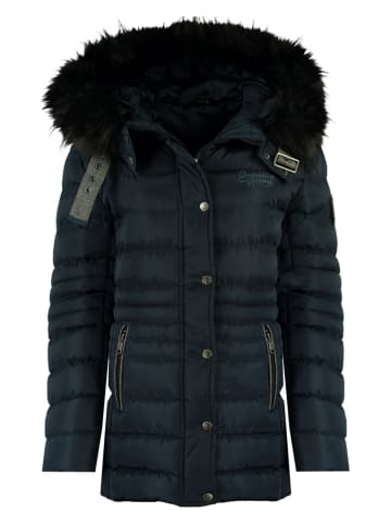 "Geographical Norway Winterjas ""Daleo"" donkerblauw"