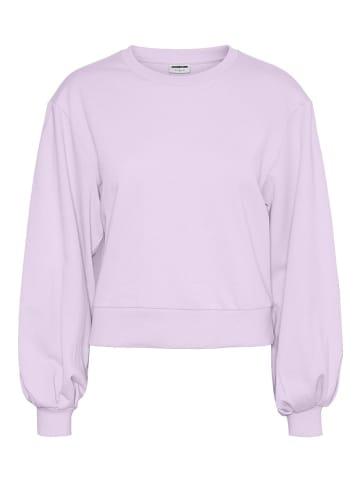 "Noisy may Sweatshirt ""Nadia"" paars"