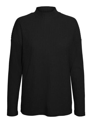 """Vero Moda Sweter """"Vmblossom"""" w kolorze czarnym"""