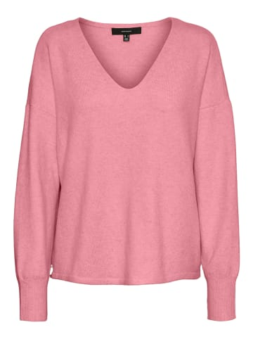 """Vero Moda Sweter """"Vmdoffy"""" w kolorze jasnoróżowym"""