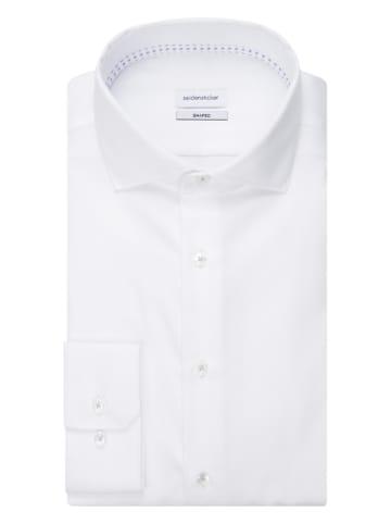 Seidensticker Koszula - Shaped fit - w kolorze białym