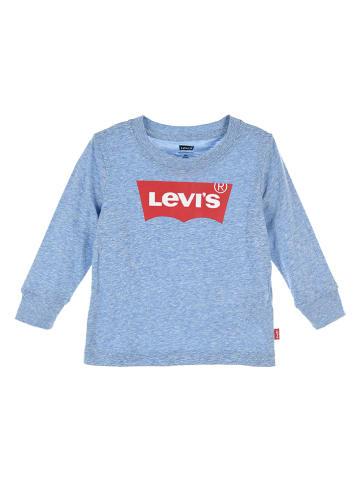 Levi's Kids Longsleeve lichtblauw