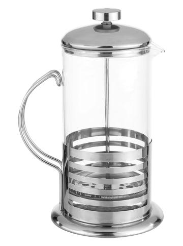 Profiline Kaffeebereiter in Silber/ Transparent - 1 l