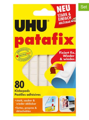 "UHU 2er-Set: Klebepads ""Patafix"" - 2x 80 Stück"
