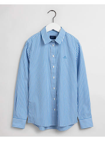 Gant Hemd in Blau/ Weiß