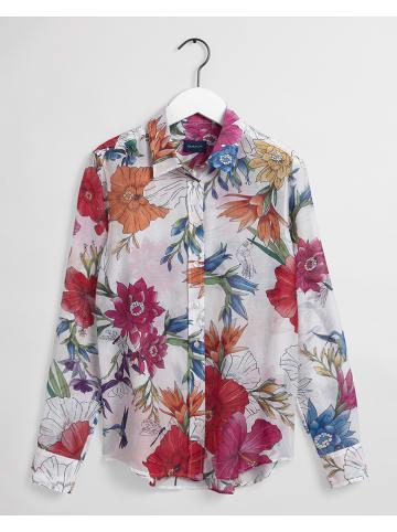 Gant Bluzka w kolorze kremowym ze wzorem