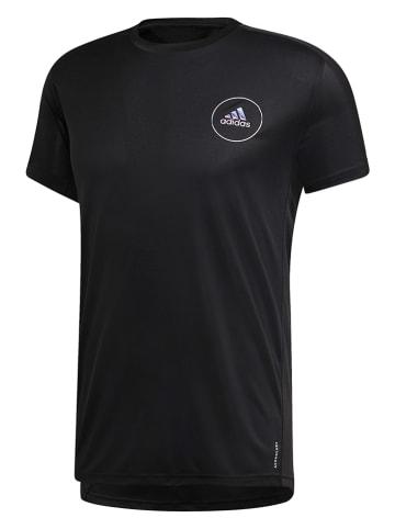 """Adidas Koszulka sportowa """"Own the Run"""" w kolorze czarnym"""