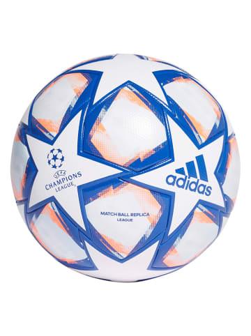 """Adidas Piłka nożna """"FIN 20 LGE"""" w kolorze biało-niebieskim"""