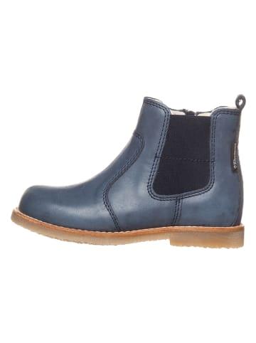 "Bundgaard Leder-Chelsea-Boots ""Caja"" in Dunkelblau"