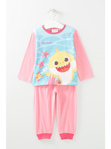 "Baby Shark Pyjama ""Baby Shark"" in Pink"