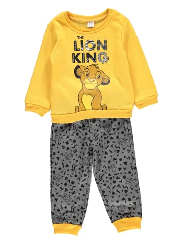 "Disney König der Löwen 2tlg. Outfit ""Lion King"" in Gelb/ Grau"