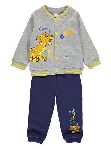 "Disney König der Löwen 2tlg. Outfit ""Lion King"" in Grau/ Dunkelblau"