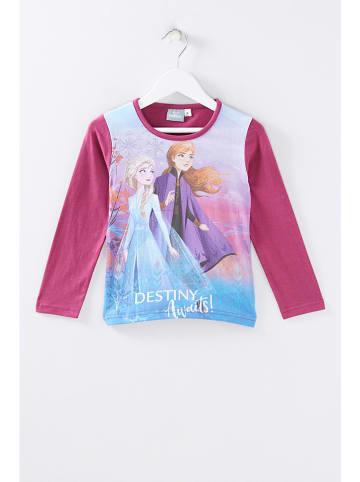 """Disney Frozen Koszulka """"Frozen"""" w kolorze fioletowym"""