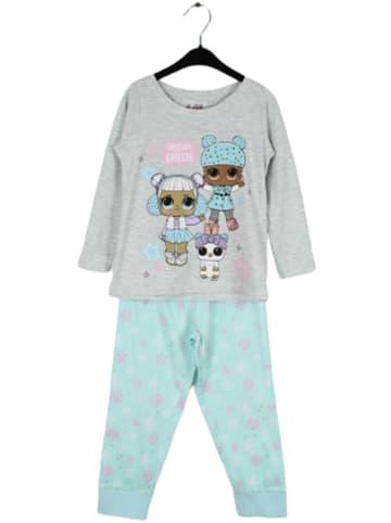 "L.O.L. Surprise Pyjama ""Lol Surprise"" grijs/turquoise"