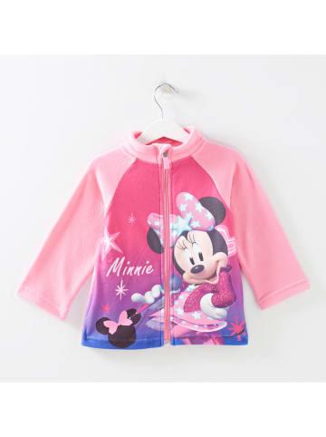 """Disney Minnie Mouse Kurtka polarowa """"Minnie"""" w kolorze jasnoróżowym"""