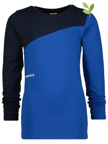 """Vingino Koszulka """"Jahero"""" w kolorze czarno-niebieskim"""