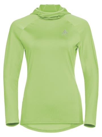 """Odlo Koszulka """"Zeroweight"""" w kolorze zielonym do biegania"""