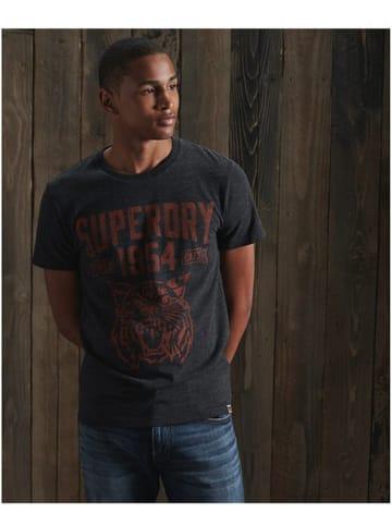 Superdry Koszulka w kolorze czarnym