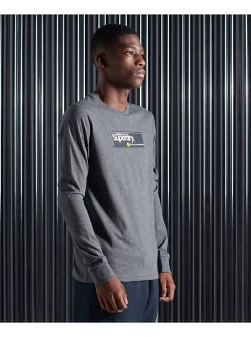 Superdry Koszulka w kolorze antracytowym