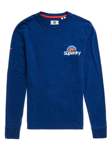 Superdry Koszulka w kolorze niebieskim