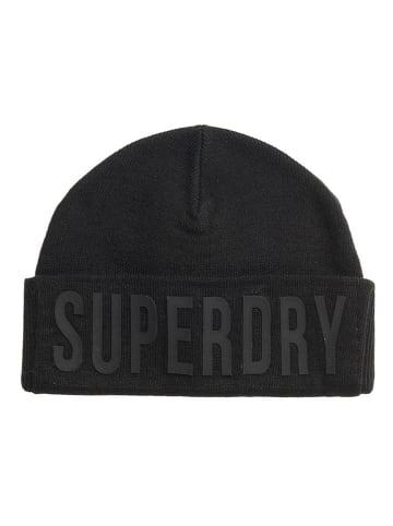 Superdry Beanie zwart
